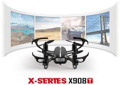 MJX X908T X-XERIEX 5.8G FPV With HD Camera Headless Mode RC Quadcopter RTF