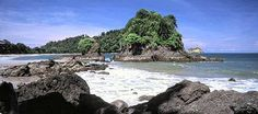 Manuel Antonio, Costa Rica....yea it's become a bit of a tourist spot but the beaches here are still some of the best in the world