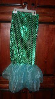 Penny Pinching on a Dime: DIY Mermaid Costume