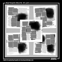 Baby Template Album No. 1E