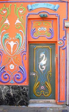 ♅ Detailed Doors to Drool Over ♅ art photographs of door knockers, hardware & portals - Buenos Aires, Argentina Grand Entrance, Entrance Doors, Doorway, Cool Doors, Unique Doors, Portal, Knobs And Knockers, Door Knobs, Art Nouveau