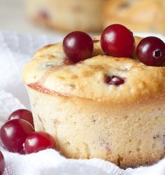 Recipe for Gluten-Free Cranberry Muffins