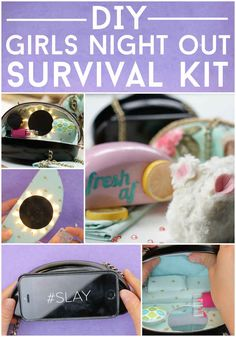 This DIY Girls Night Out Survival Kit Will Blow Your Mind Yaaaaassss