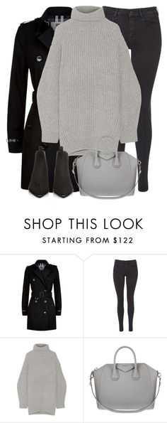 """""""Untitled #2933"""" by elenaday ❤ liked on Polyvore featuring Burberry, Maison Scotch, Acne Studios and Givenchy"""