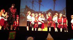kleuterdans piraten