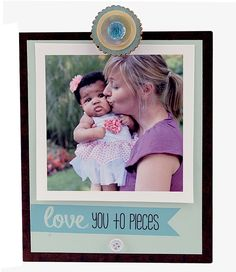 Love You To Pieces Insta Clip Frame | Personalized Frame, Instagram Frame…