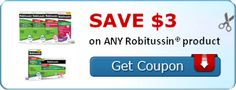 HOT! Robitussin Coupons | FREE   $4.20 Moneymaker at CVS!
