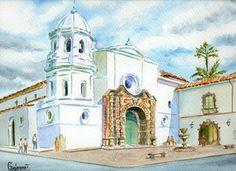 Iglesia Santo Domingo Popayan.