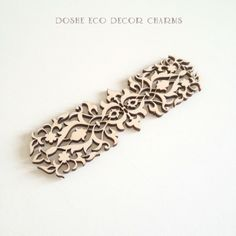 Fantastic Airy Laser cut ornamental lace 352 / Laser cut wood / Wood ornaments / Wood shapes / Wedding decor / Wood charms / Wood cutouts by DosheEcoDecorCharms on Etsy