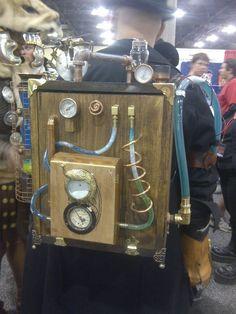 Steampunk! Backpack by ~Styhx on deviantART