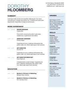 Contemporary Resume Design Sample - http://topresume.info/contemporary-resume-design-sample/