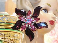 Hey, I found this really awesome Etsy listing at https://www.etsy.com/listing/251035792/1960s-60s-mid-century-rhinestone-brooch