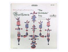 John Alcorn record album design 1957. Beethoven by NewDocuments
