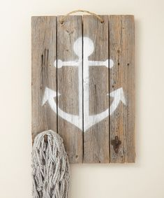 Look at this Anchor Wall Hook on #zulily today!