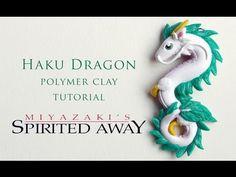 DIY Spirited Away Haku Dragon Polymer Clay Tutorial - YouTube