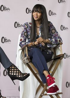 Naomi Campbell at New York's first all-female festival
