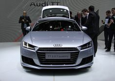AUDI presents third generation TT coupe