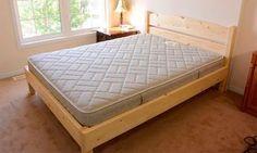 Как сделать двуспальную кровать самостоятельно