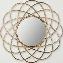 Safavieh Galaxy Wall Mirror; Antique Gold MIR4005A