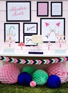 Inspirational Bows & Arrows Birthday Party
