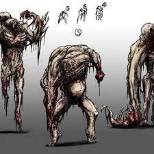 Resultado de imagen para dead space concept monsters