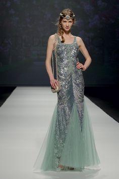 #Vestidos de fiesta Matilde Cano Pasarela Gaudí 2015. #Moda #Fashion