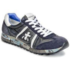 Sneakers Premiata White LUCY Blu 350x350