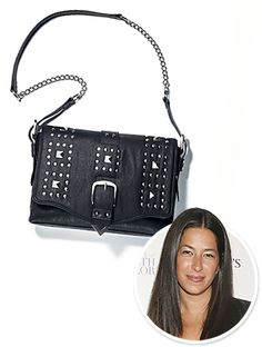 #RebeccaMinkoff's teamed up with #mark cosmetics to create a $60 faux leather bag.  http://news.instyle.com/2012/03/21/rebecca-minkoff-mark-handbag/