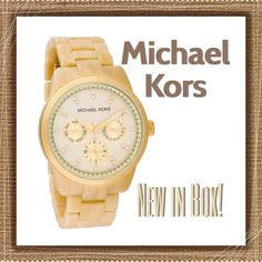 "Selling this ""NEW! MICHAEL KORS Watch"" in my Poshmark closet! My username is: hilarysmom. #shopmycloset #poshmark #fashion #shopping #style #forsale #Michael Kors #Accessories"