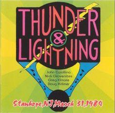 Thunder & Lightning Stanhope, N.J., 31.3.1984