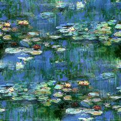 monet water lilies i