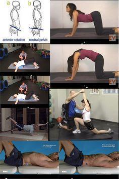 5 Simple Exercises for Correcting Anterior Pelvic Tilt