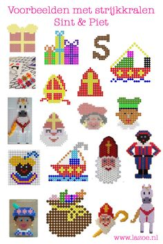 Crafts For Girls, Diy For Kids, Diy And Crafts, Christmas Cross, Kids Christmas, St Nicholas Day, Saint Nicolas, Peler Beads, Fuse Beads