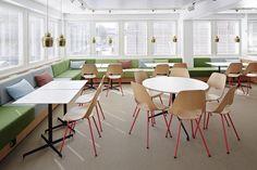 SLS - Snellmaninkatu — KOKO3 Office Environment, Workplace Design, Workspaces, Contemporary, Modern, Finland, Furniture Design, Dining Chairs, Flooring