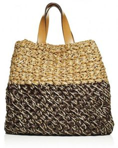 Celine Tote - Lorenza Gandaglia Wonder what kind of weave this is..