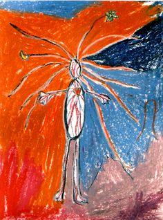 pastel on cardboard, maiusz kruk, www.mariuszkruk.pl