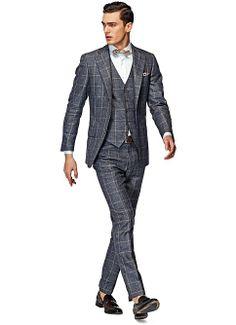 Suit_Grey_Check_Lazio_P3825I