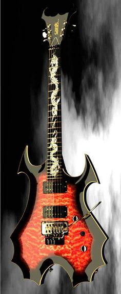 Bad Dragon my dream guitar!!!!!
