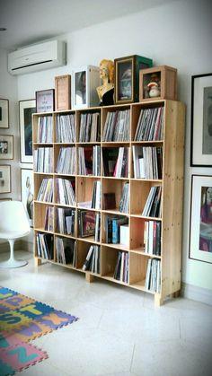 record rack