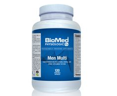 Men Multi is an advance comprehensive multiple vitamin, mineral, and herbal supplement, with select amino acids, designed specifically for the unique nutritional requirements of men. This foundation multiple formula, in easy-to-swallow vegetable capsules, delivers select nutrients to support the prostate, liver, and adrenals along with broad-spectrum anti-oxidant protection. It also features patented Albion TRAACS® amino acid chelates for optimal mineral absorption.