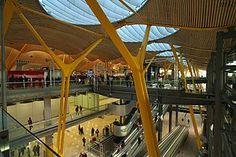 Richard Rogers -  Terminal 4 del aeropuerto de Barajas, madrid, España