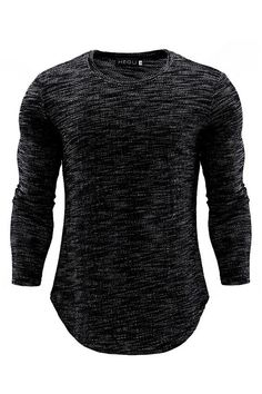 2019 New Black Men Running T Shirt Black Long Sleeve Slim Fitness Tops Stretch T-shirt Mens Gym Clothing Chemise Homme Outdoor Gym Outfit Men, Shirt Outfit, Black Outfit Men, Slim Fit Polo Shirts, Casual Shirts, Stylish Men, Men Casual, Long Sleeve Shirts, Menswear