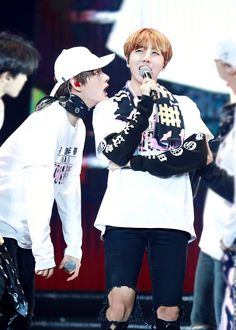 when u pay attention to ur hyung giving a speech intently