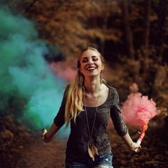 Loving this smoke bomb inspiration!⠀ ⠀ We'll have packs of multi-color smoke sticks available for sale soon!⠀ ⠀ Can't wait to see how everyone uses them!