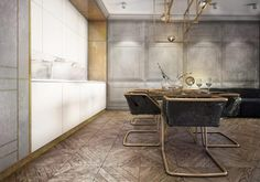 Apartment in Gdansk by IDEOGRAF