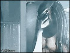 Discover & share this Alien Vs Predator GIF with everyone you know. GIPHY is how you search, share, discover, and create GIFs. Alien Vs Predator, Top Pranks, Great Pranks, Geek Background, Aliens, Shower Gif, Movies And Series, Xenomorph, Best Funny Pictures