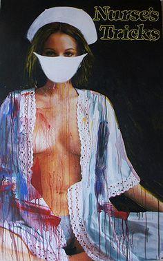 Nurses Tricks at Gagosian gallery Hong Kong
