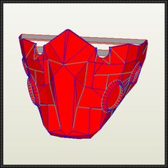 Tokyo Ghoul - Tatara Mask Papercraft Free Download - http://www.papercraftsquare.com/tokyo-ghoul-tatara-mask-papercraft-free-download.html