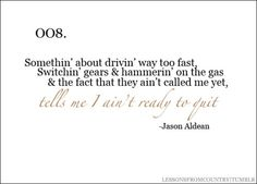 Jason Aldean or Thomas Rhett...either way <3