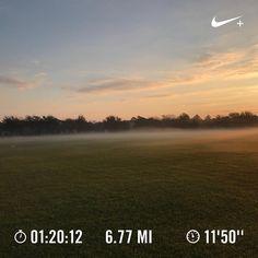 Love my #morningrun and even more so being a #floridarunner - year 'round fitness. #blackmenrun #halfmarathon #halfmarathontraining #runners_of_insta #stravarunners #instarunners #runfloridarun #nikerunning